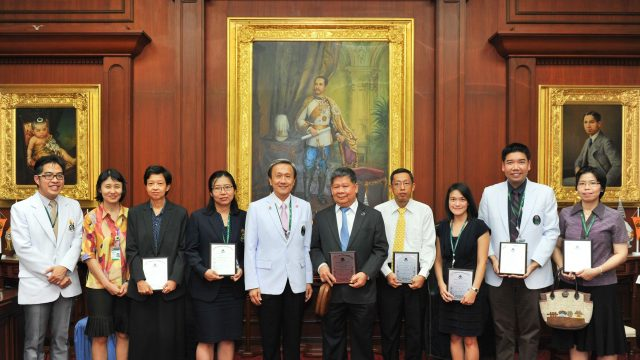 A.G. Ellis Research Award Ceremony in Siriraj International Conference in Medicine and Public Health 2016