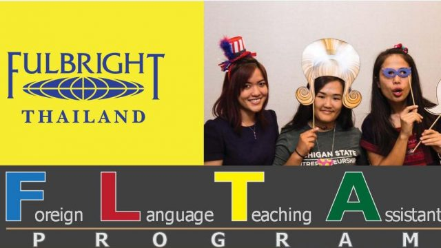 Fulbright's 2018-2019 Foreign Language Teaching Assistant Program (FLTA)