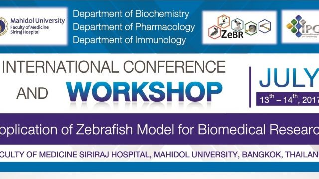 Application of Zebrafish Model for Biomedical Research 2017