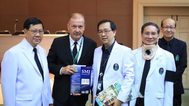 Welcome Prof. Frans Moll as Siriraj International Visiting Scholar