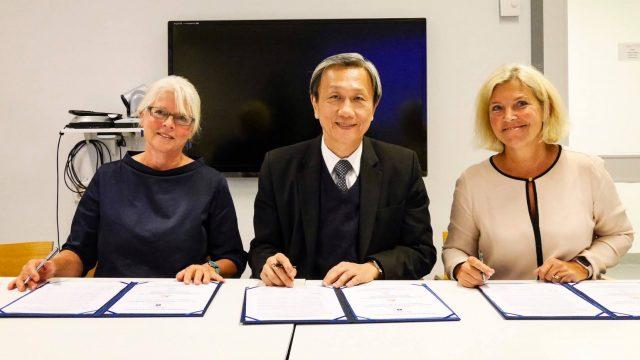Siriraj Signed MOU With 3 Prestigious Swedish Institutes