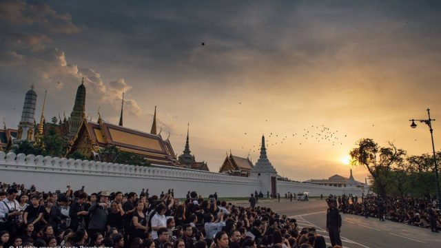 Traffic Rearrangements on October 25 – 29 during Royal Cremation Ceremonies
