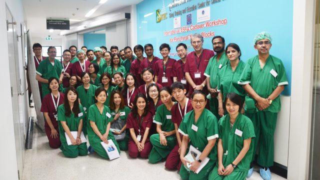 International ESRA Cadaver Workshop for Peripheral Nerve Block Workshop