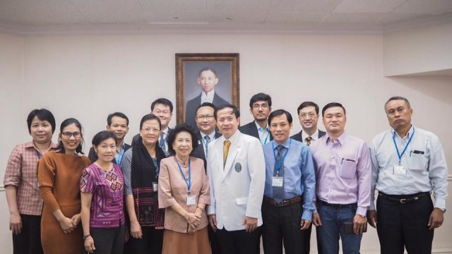 Knowledge Network Institute of Thailand (KNIT) Visit Siriraj