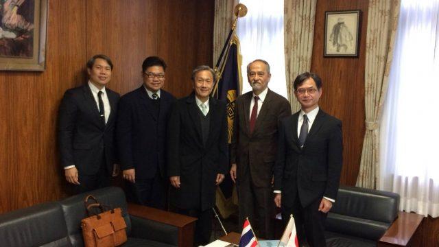 Siriraj Executives Visited Kumamoto University, Japan
