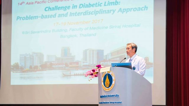 The 14th Asia-Pacific Conference on Diabetic Limb Problems