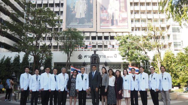 President Rajiv Shah and Delegates from Rockefeller Foundation Visits Siriraj Hospital