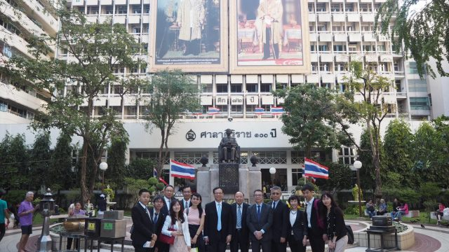The Deputy Minister and Delegates from Ministry of Health and Welfare Taiwan Visits Siriraj Hospital