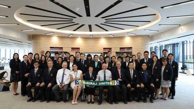 Siriraj Visits Lee Kong Chian School of Medicine, Singapore