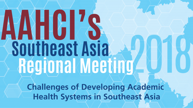 AAHCI's South East Asia Regional Meeting 2018
