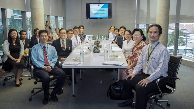 Tzu Chi University Taiwan Visits Siriraj