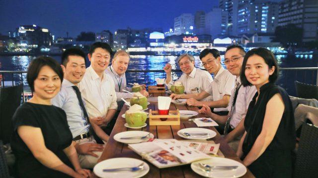 The Complimentary Dinner for Siriraj International Visiting Scholars