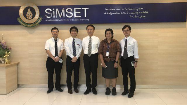 Kumamoto University visit Siriraj Medical Simulation Center for Education and Training ( SiMSET ).
