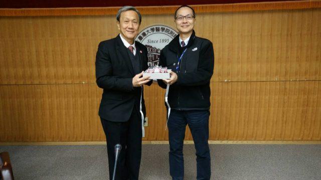 Siriraj Visited National Taiwan University
