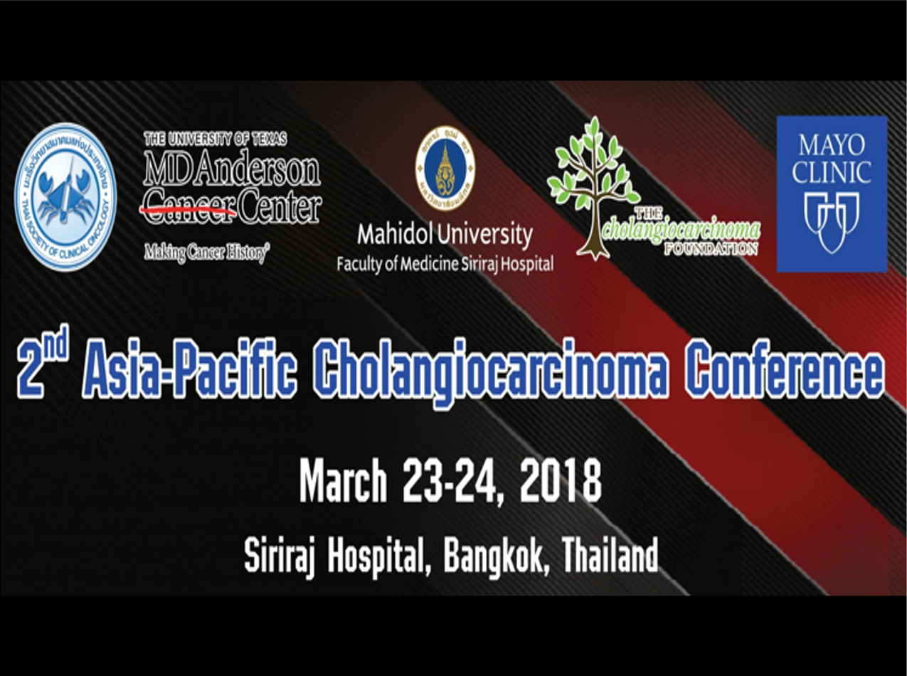 2nd Asia-Pacific Cholangiocarcinoma Conference