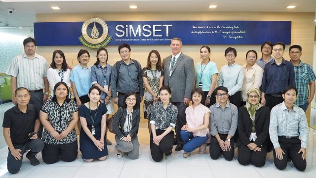 Prof. John M. O'Donnell from U. of Pittsburgh, USA as Siriraj Visiting Scholar !