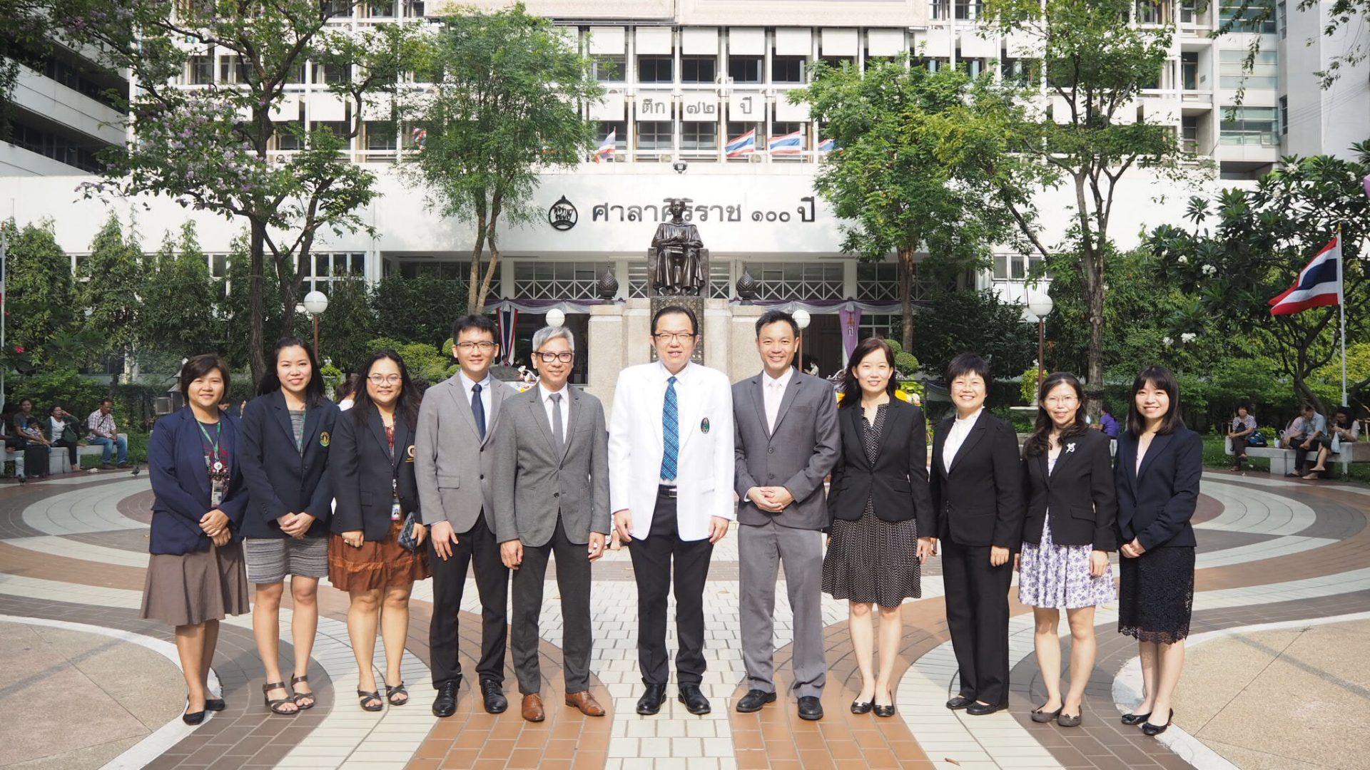 Tan Tock Seng Hospital Delegates Attended R2R Workshop at Siriraj
