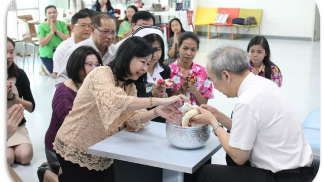 Songkran tradition