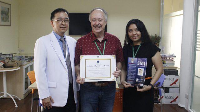 Siriraj International Visiting Scholar at Siriraj
