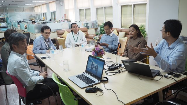 Discussion in Teleconference and Telemedicine Technology Between Siriraj and Huawei