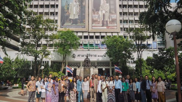 International Delegates from Division of Diseases Control Ministry of Health Visits Siriraj