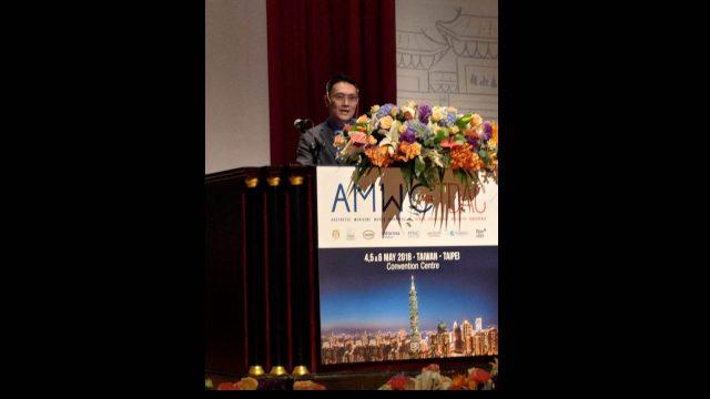"Siriraj Faculty Attended ""Aesthetic Medicine World Congress Asia 2018"""