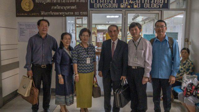 Ministry of Health Professional Education, Laos Visits Siriraj