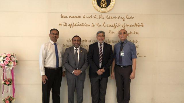 Update Dental College & Hospital, Bangladesh Visits Siriraj