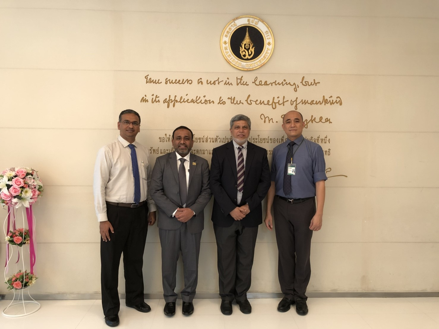 Update Dental College & Hospital, Bangladesh Visits Siriraj