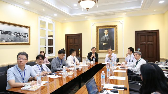 Superintendent and delegates from Yuanlin Christian Hospital, Changhua Christian Hospital Foundation visited Siriraj