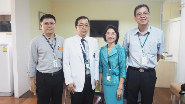 Associate Director from The Chinese University of Hong Kong Visits Siriraj