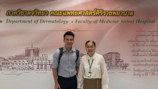 Vietnamese Doctor Attend Short Training Course in Dermatopathology at Siriraj