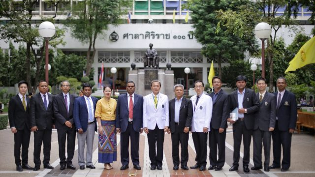 Deputy Prime Minister and Minister of Health and Population, Nepal Visits Siriraj