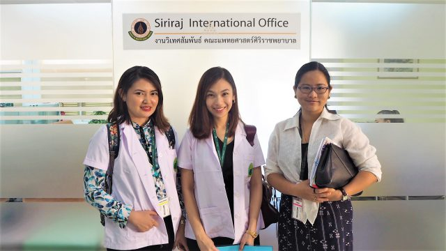 Residents from the Philippines undertook the Dermatology Fellowship Training at Siriraj