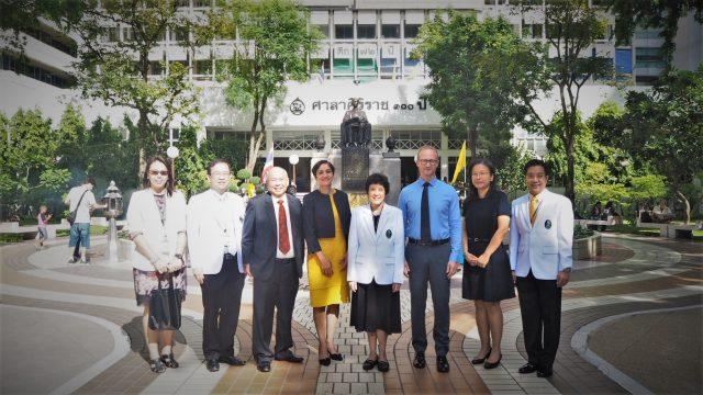 Delegates from LKC School of Medicine Visited Siriraj Hospital