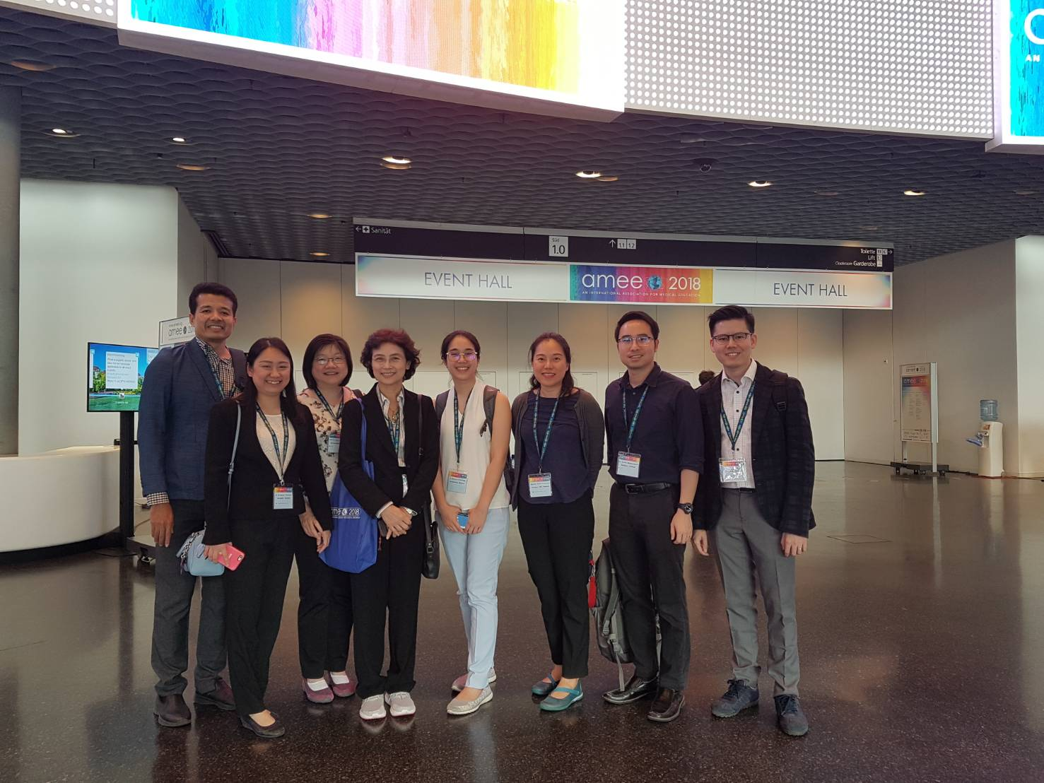 Siriraj Faculty Members Participate in AMEE 2018