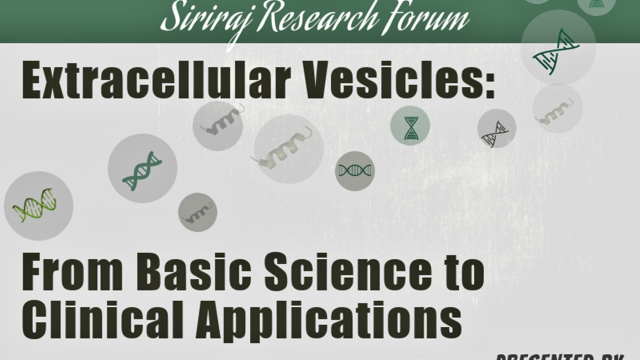 Extracellular Vesicles: from Basic Science to Clinical Applications