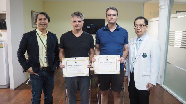 Siriraj International Visiting Scholars