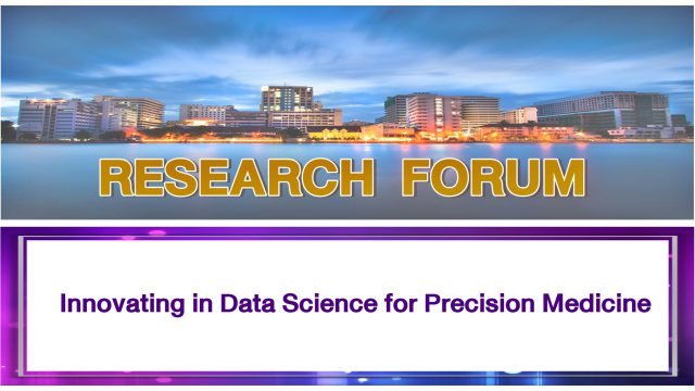 Innovating in Data Science for Precision Medicine