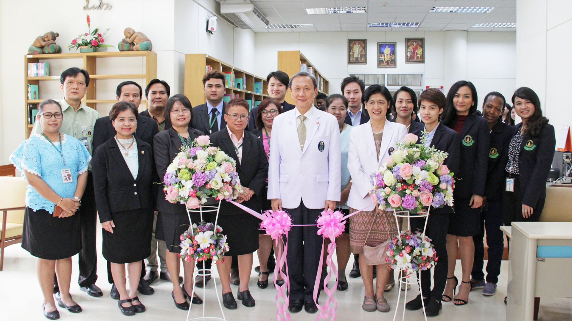 The Grand Opening of The Library of Sirindhorn School of Prosthetics and Orthotics
