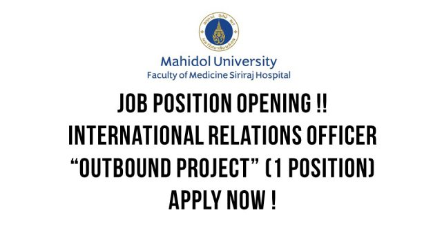 Job Position Opening