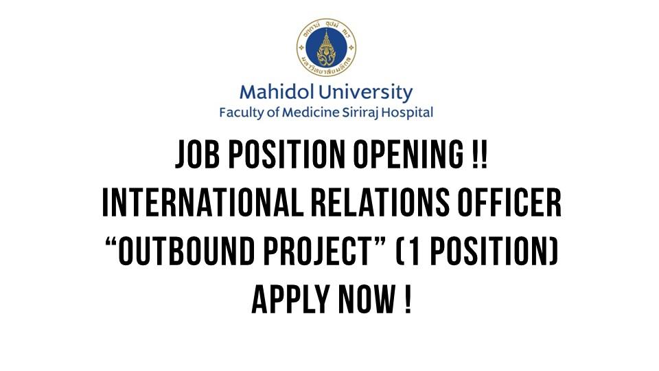 Job Position Opening
