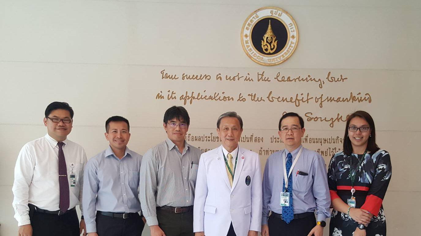 Lee Kong Chian School of Medicine, Nanyang Technology University, Singapore Visits Siriraj