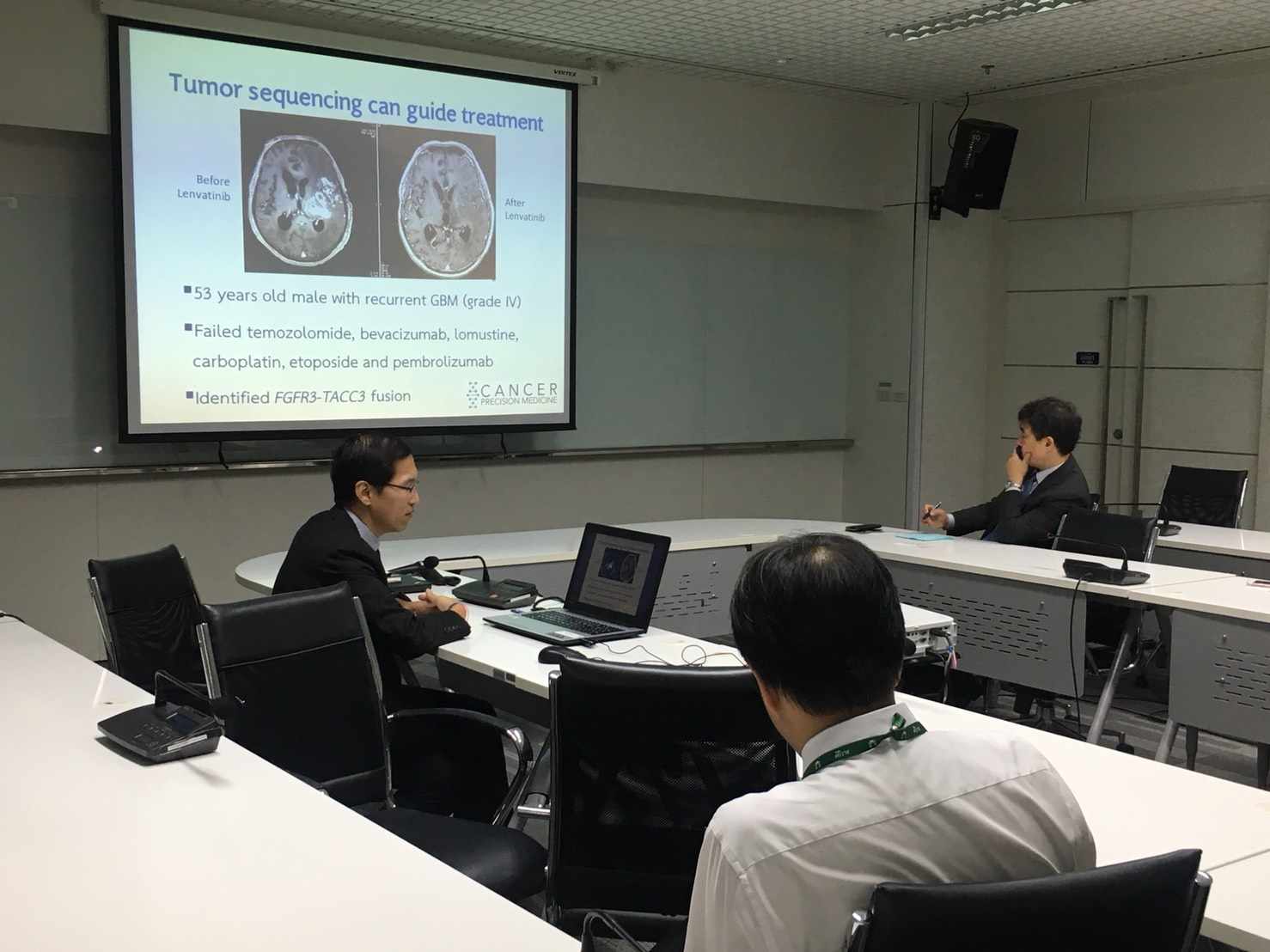 Discussion on Cancer Research Between Siriraj and Seoul National University, Korea