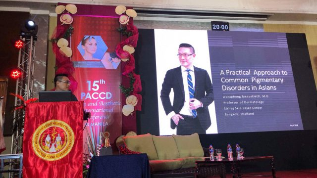 """Talk on """"A Practical Approach to Common Pigmentary Disorders in Asians"""""""