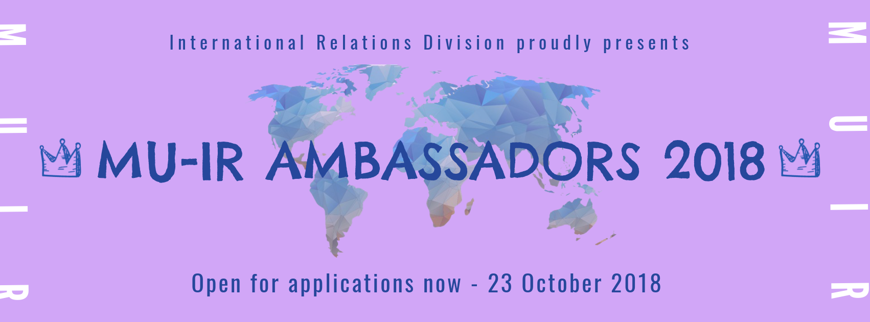 Mahidol University International Relations Ambassadors 2018