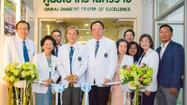 "The Grand Opening of ""Siriraj Diabetes Center of Excellence"""
