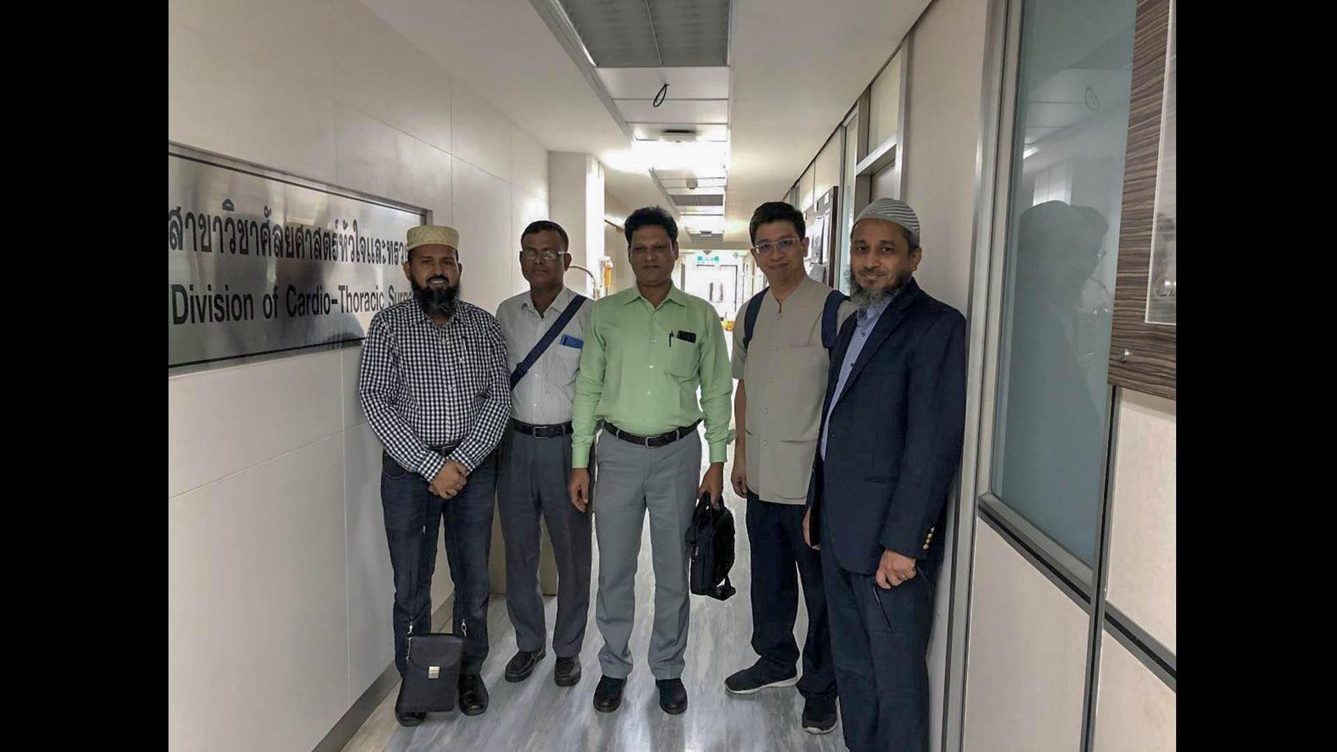 Four Bangladeshi Doctors Attend the Observership Program at