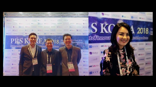 """Siriraj's Surgery and Dermatology attended the """"PRS Korea 2018: Moment of Innovation, the International Confederation of Plastic Surgery Societies"""""""