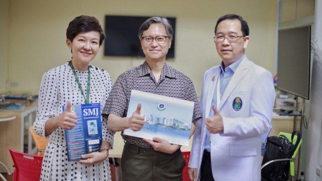 Prof. Vincent Chan from University of Toronto, Canada as Siriraj International Visiting Scholar !